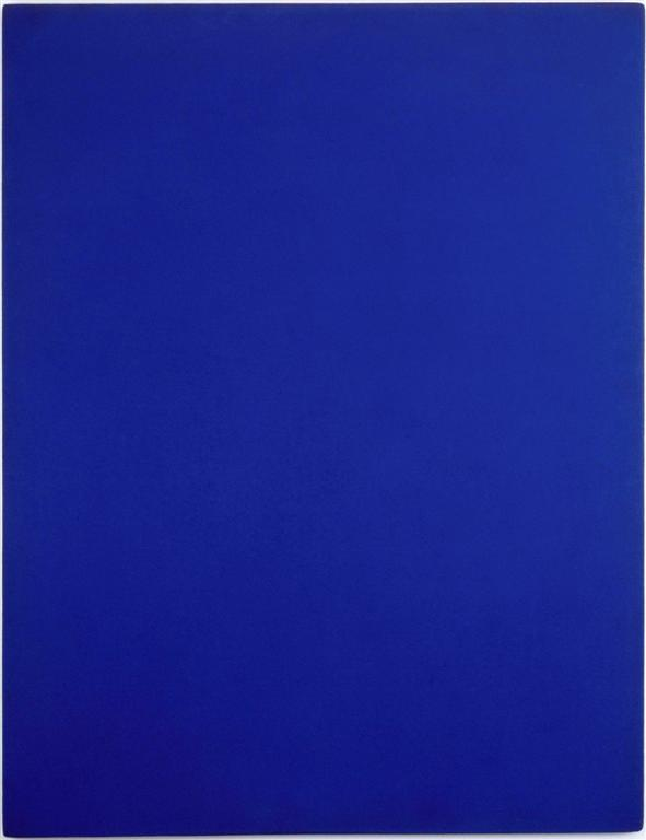 la trinit bleue rose et or d 39 yves klein centre pompidou. Black Bedroom Furniture Sets. Home Design Ideas