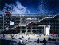 Le Centre Pompidou accueille celui à qui il doit sa renommée architecturale!