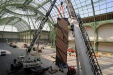 Richard Serra investit la nef du Grand Palais