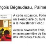 Gagnez le livre du film palmé à Cannes en vous abonnant à la newsletter Folio