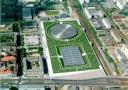Vélodrome et piscine olympique de Berlin, Allemagne, 1992-1999 (c) Pressefoto
