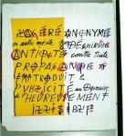 Les affiches lacérées de Jacques Villeglé