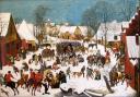 Pieter Bruegel l'Ancien et Pieter Brueghel le Jeune. Le Massacre des Innocents à Bethléem. Vers 1586-1590. Huile sur bois. Serge Wytz (c) Brukenthal National Museum, Sibu / Hermannstadt, Romania