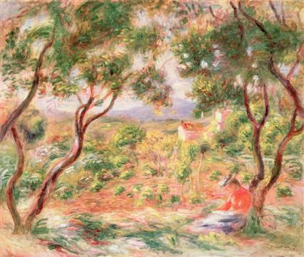 Je commence savoir peindre renoir 72 ans galeries for Renoir maison classique