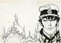 Hugo Pratt entre au Panthéon des artistes