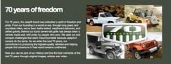 Jeep: des valeurs ancrées dans 70 ans d'histoire, célébrées par un défi unique