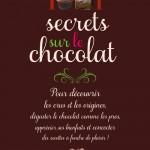 La Bible du chocolat!