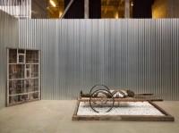 """Vue de l'exposition monographique de Hiroshi Sugimoto """"Aujourd'hui, le monde est mort"""", dans le cadre de la saison L'Etat du Ciel(25.04.14 - 07.09.14), Palais de Tokyo. Photo : André Morin"""