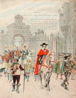 Entrée du Roi et de Richelieu à La Rochelle après la capitulation de la ville, Maurice Leloir © Paris - Musée de l'Armée, Dist. RMN-GP / image musée de l'Armée
