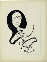 Francis Picabia, Projet de couverture pour Littérature. Centre Pompidou, Musée national d'art moderne. Paris