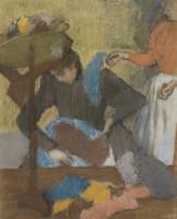 Edgar Degas Chez la modiste, entre 1905 et 1910. Pastel sur papier, 91 x 75 cm © Paris, Musée d'Orsay