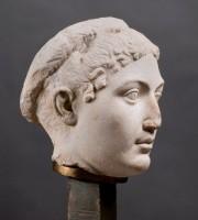 Portrait de Cléopâtre VII, milieu du Ier siècle av. J.-C.. Musée des antiquités, Turin © Photo: D.R.