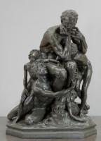 Ugolin, dit aussi Ugolin et quatre enfants (détail), 1862 Bronze fondu par Victor Thiébaut, 194 x 148 x 119 cm Paris, musée d'Orsay © RMN-Grand Palais (Musée d'Orsay) / Jean Schormans