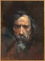 Jean-Baptiste Carpeaux (1827-1875) Autoportrait dit aussi Dernier Autoportrait Huile sur toile, 41 x 32,5 cm Paris, musée d'Orsay, RF 1961 29 © RMN-Grand Palais (Musée d'Orsay) / Hervé Lewandowski