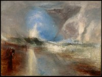 Joseph Mallord William Turner – Fumées et lumières bleues pour avertir les bateaux à vapeur des hauts fonds – 1840 – Huile sur toile - © Sterling and Francine Clark Art Institute, Williamstown, Massachusetts, USA (photos by Michael Agee)