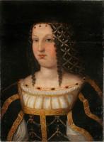 D'après Bartolomeo Veneto. Portrait présumé de Lucrèce Borgia, 1510. Nîmes, Musée des Beaux Arts © Florent Gardin/MBA-Nîmes