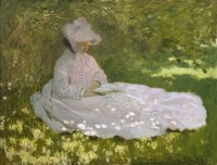 Claude Monet, La Liseuse, 1872, Huile sur toile, 50 x 65 cm, Baltimore, The Walters Art Museum © The Walters Art Museum, Baltimore
