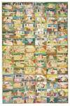 Les Quatre-vingt-quatre Asana (positions) Ecole de Nathdwara, Rajasthan XVIIIe ou début du XIXe siècle Aquarelle 91,4 x 61 cm Collection privée © Photo: Pinacothèque de Paris