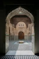 Madrasa El Attarine, Fès, Maroc. © L. Schneiter / Les Editions de Makassar