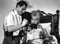 Henri Dauman et Brigitte Bardot, sur le tournage de « Vie  Privée » de Louis Malle, 1962 © DaumanPictures.com / Henri Dauman
