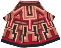 Sonia Delaunay, Manteau pour Gloria Swanson, c. 1924. Broderie de laine. Collection particulière © Pracusa 2013057