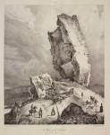 Pharamond Blanchard (1805-1873), La Tour penchée de Soyons, Languedoc, 1834, vol. 2, part. 2, pl. 322 © Paris, Fondation Taylor / Thomas Hennocque