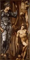 Sir Edward Burne-Jones (1833-1898), La Roue de la Fortune, entre 1875 et 1883. Huile sur toile. Paris, musée d'Orsay © RMN (Musée d'Orsay) / Gérard Blot