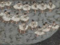 Pierre Bonnard (1867-1947) Danseuses ou Le Ballet, vers 1895 Huile sur carton contrecollé sur panneau, 28 x 36 cm Paris musée d'Orsay, achat, RF 2013 20 © Musée d'Orsay, dist. RMN-Grand Palais / Patrice Schmidt © Paris, ADAGP 2014