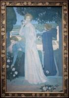 Maurice Denis (1870-1943) Portrait d'Yvonne Lerolle en trois aspects, 1897 Huile sur toile, 170 x 110 cm Paris, musée d'Orsay, achat, RF 2010 9 © Musée d'Orsay, dist. RMN-Grand Palais / Patrice Schmidt