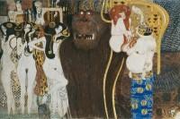 Gustav Klimt, Reconstitution de la Frise Beethoven, 1985 © Belvédère, Vienne
