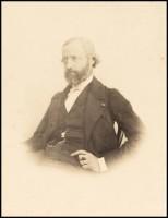 Charles François Bossu (dit Charles Marville). Portrait de Viollet-le-Duc à l'âge de 46 ans, 1860 (c) CAPA/MMF