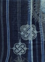 Broderie sur grand boubou  © Catherine Legrand