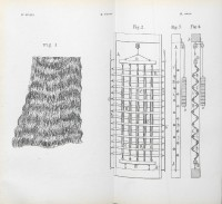 """Brevet déposé par Mariano Fortuny y Madrazo (1871-1949 ) le 10 juin 1909 à l'Office national de la propriété intellectuelle, pour un """"Genre d'étoffe plissée ondulée"""". Source : Archives INPI"""