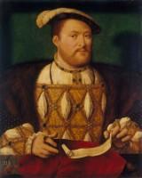 Joos van Cleve, Henri VIII, vers 1530-1535 © Royal Collection Trust © Her Majesty Queen Elizabeth II, 2014