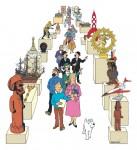 Le musée imaginaire de Tintin (c) D.R.