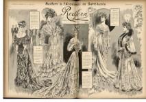 Article consacré à la participation de la maison Redfern à l'Exposition universelle de Saint-Louis (Etats- Unis), L'Art et la Mode, n°23, 3 juin 1904 © Editions Jalou 1904