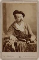 Charles Frederick Worth photographié par Charles Reutlinger, Inde 1885 © Charles Reutlinger / Galliera / Roger-Viollet
