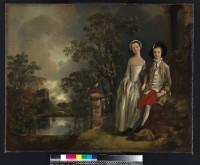 Thomas Gainsborough. Heneage LIoyd et sa sœur Lucy, vers 1750 © Fitzwilliam Museum, Cambridge