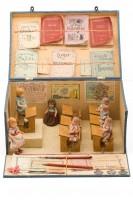 Ecole avec petites poupées, Atlas N.K., France, 1930. Photo Jean Tholance