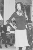 Tailleur-jupe. Collection haute couture printemps-été 1971 © Fondation Pierre Bergé - Yves Saint Laurent
