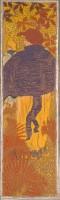 Pierre Bonnard, Femmes au jardin, Femme à la pèlerine, 1890- 1891. Paris, musée d'Orsay © Musée d'Orsay, dist. RMN-Grand Palais / Patrice Schmidt © ADAGP, Paris 2015