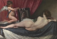 Diego Velazquez, La toilette de Venus, 1647-1651. Huile sur toile, The National Gallery © The National Gallery