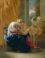La Sainte Famille. 1641 -1642. Huile sur toile. Détroit, The Detroit Institute of Art © Bridgeman Images