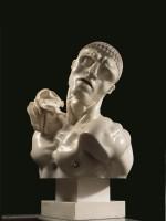 Adolfo Wildt, Vir temporis acti dit Uomo antico, 1921. Bronze. Paris, musée d'Orsay © Musée d'Orsay, dist. RMN-Grand Palais / Patrice Schmidt