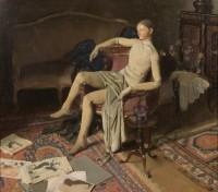 Alan Beeton. Sans Titre, Reposing II, vers 1929 © Beeton Family Estate
