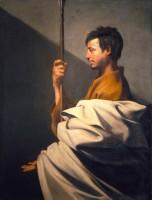 Jusepe Ribera, Saint Thomas, vers 1612. Huile sur toile © Firenze, Fondazione di Studi di Storia dell'Arte Roberto Longhi