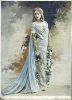 Studio Reutlinger, Mlle Garden dans Pelléas et Mélisande, vers 1904, photographie, Paris, Biblio- thèque-musée de l'Opéra © BnF