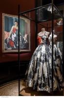 Vue l'exposition Jeanne Lanvin, Palais Galliera, 2015 © Pierre Antoine
