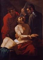 Caravage, Le Couronnement d'épines, vers 1603. Huile sur toile © Collezion Banca Popolare di Vicenza