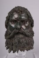 Tête, Seuthès III. Golyama Kosmatka. IIIe siècle av. J.-C. Bronze. Musée archéologique de Sofia © Ivo Hadgimishev